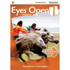 Рабочая тетрадь Eyes Open Level 1 Workbook with Online Practice