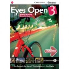 Учебник Eyes Open Level 3 Student's Book with Online Workbook and Online Practice