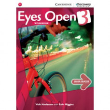 Рабочая тетрадь Eyes Open Level 3 Workbook with Online Practice