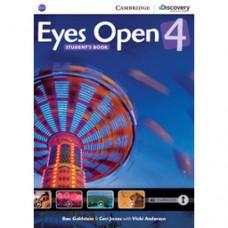 Учебник Eyes Open Level 4 Student's Book