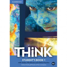 Учебник английского языка Think 1 (A2) Student's Book with Online Workbook and Online Practice