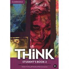 Учебник английского языка Think 2 (B1) Student's Book with Online Workbook and Online Practice
