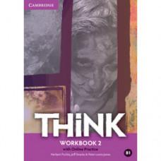 Рабочая тетрадь Think 2 (B1) Workbook with Online Practice