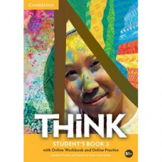 Учебник английского языка Think 3 (B1+) Student's Book with Online Workbook and Online Practice