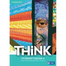 Учебник английского языка Think 4 (B2) Student's Book