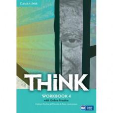 Рабочая тетрадь Think 4 (B2) Workbook with Online Practice