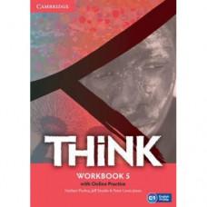 Рабочая тетрадь Think 5 (C1) Workbook with Online Practice