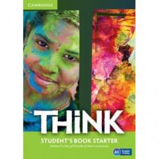 Учебник английского языка Think Starter (A1) Student's Book