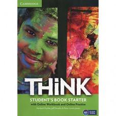 Учебник английского языка Think Starter (A1) Student's Book with Online Workbook and Online Practice