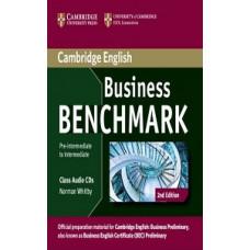 Диски Business Benchmark (Second Edition) BEC Pre-Intermediate/Intermediate  Class Audio CDs (2)