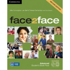 Учебник английского языка Face2face Second edition Advanced Student's Book with DVD-ROM and Online Workbook Pack