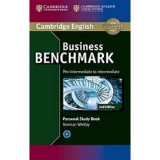 Рабочая тетрадь Business Benchmark (Second Edition) BEC Pre-Intermediate/Intermediate  Personal Study Book