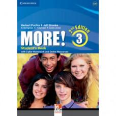Учебник английского языка More! (2nd edition) 3 Student's Book with Cyber Homework and Online Resources