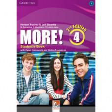 Учебник английского языка More! (2nd edition) 4 Student's Book with Cyber Homework and Online Resources