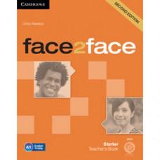 Книга для учителя Face2face Second edition Starter Teacher's Book with DVD