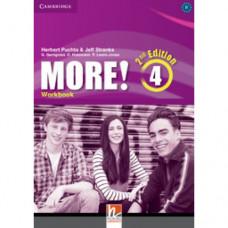 Рабочая тетрадь More! (2nd edition) 4 Workbook