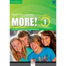 Учебник английского языка More! (2nd edition) 1 Student's Book with Cyber Homework and Online Resources