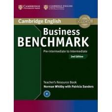 Книга для учителя  Business Benchmark (Second Edition) BEC Pre-Intermediate/Intermediate  Teacher's Resource Book