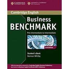 Учебник  Business Benchmark (Second Edition) BEC Pre-Intermediate/Intermediate  Student's Book