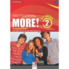 Учебник английского языка More! (2nd edition) 2 Student's Book with Cyber Homework and Online Resources