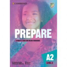 Учебник Cambridge English Prepare! 2nd Edition 2 Student's Book with Online Workbook