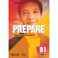 Учебник Cambridge English Prepare! 2nd Edition 4 Student's Book with Online Workbook