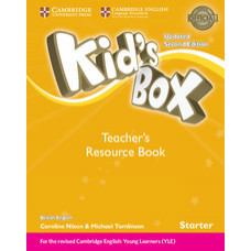 Книга для учителя Kid's Box Updated Second Edition Starter Teacher's Resource Book