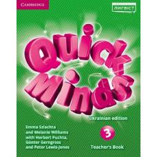 Книга для учителя Quick Minds НУШ 3 Teacher's Book