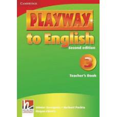 Книга для учителя Playway to English 2nd Edition 3 Teacher's Book