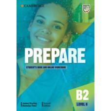 Учебник Cambridge English Prepare! 2nd Edition 6 Student's Book with Online Workbook
