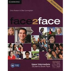 Учебник английского языка Face2face Second edition Upper Intermediate Student's Book with DVD-ROM and Online Workbook Pack
