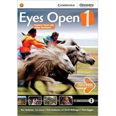 Учебник Eyes Open Level 1 Student's Book with Online Workbook and Online Practice