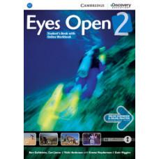 Учебник Eyes Open Level 2 Student's Book with Online Workbook and Online Practice