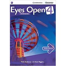 Рабочая тетрадь Eyes Open Level 4 Workbook with Online Practice
