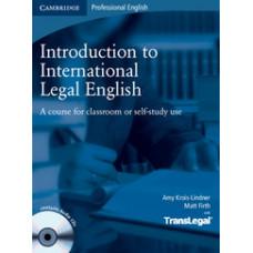 Учебник Introduction to International Legal English