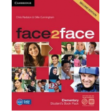 Учебник английского языка Face2face Second edition Elementary Student's Book with DVD-ROM and Online Workbook Pack