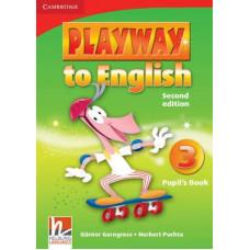 Учебник Playway to English 2nd Edition 3 Pupil's Book