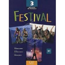 Учебник Festival 3 Livre de l'élève