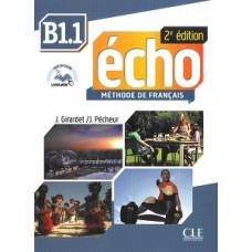Учебник Echo B1.1 - 2e édition Livre + DVD-Rom + livre-web