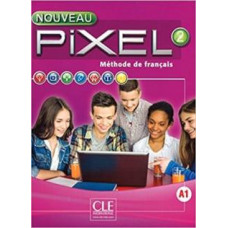 Учебник Pixel Nouveau 2 Livre de l'élève + DVD ROM