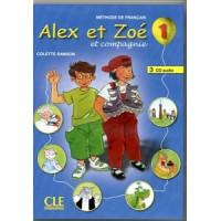 Диски Alex et Zoe 1 CD Audio pour la classe