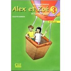 Диски Alex et Zoe 3 CD Audio pour la classe