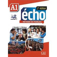 Учебник Echo A1 - 2e édition Livre + DVD-Rom + livre-web