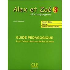 Книга для учителя Alex et Zoe Nouvelle 3 Guide pédagogique