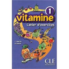 Рабочая тетрадь Vitamine 1 Cahier d`exercices + CD audio + portfolio