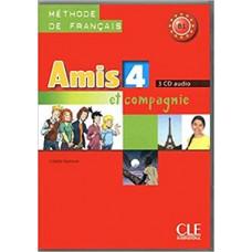 Диски Amis et compagnie 4 CD (3) audio pour la classe