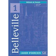 Рабочая тетрадь  Belleville 1 Cahier d`exercices + CD audio