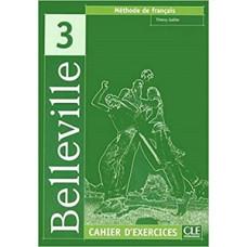 Рабочая тетрадь Belleville 3 Cahier d`exercices + CD audio