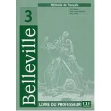 Книга для учителя Belleville 3 Guide pedagogique