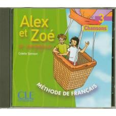 Диски Alex et Zoe 3 CD Audio Individuelle